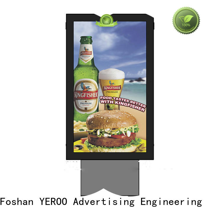 YEROO scrolling light box good quality for advertising