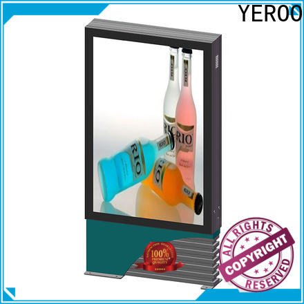 YEROO stainless steel led light box panels effective outdoor light