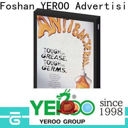 hot-sale backlit sign box good quality for advertising