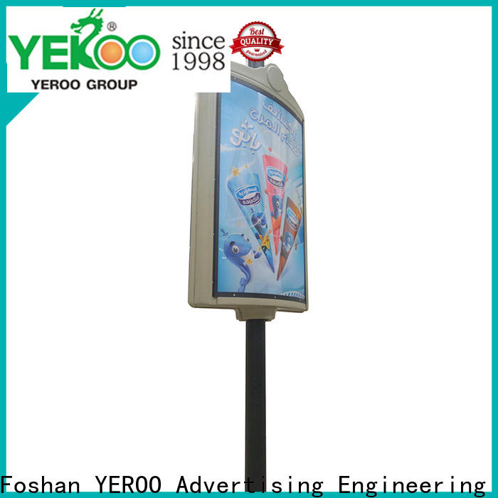pole led display advertizing
