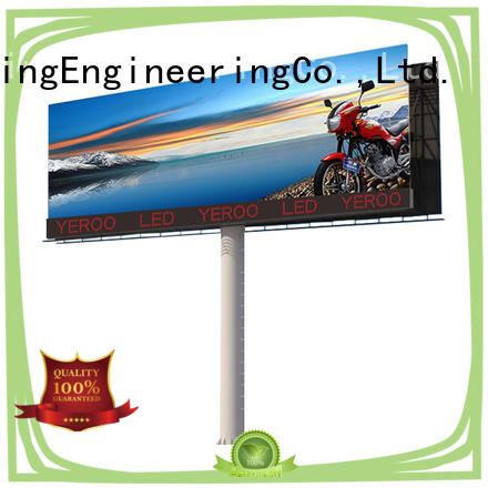 led billboard structure YEROO