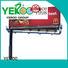 YEROO steel structure solar advertising billboard solar for highway