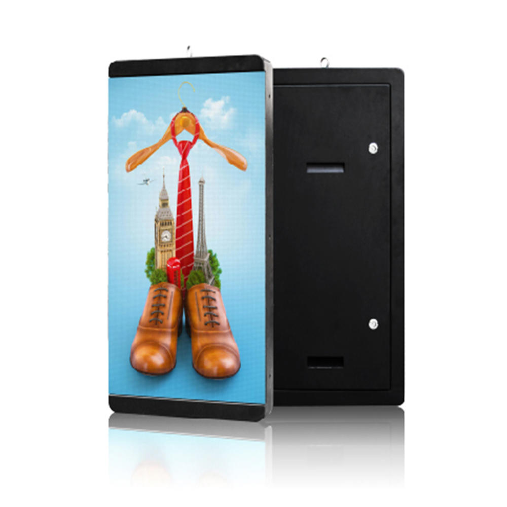 YEROO-Mupi Digital, Lamp Post Advertising Digital Led Screen Display