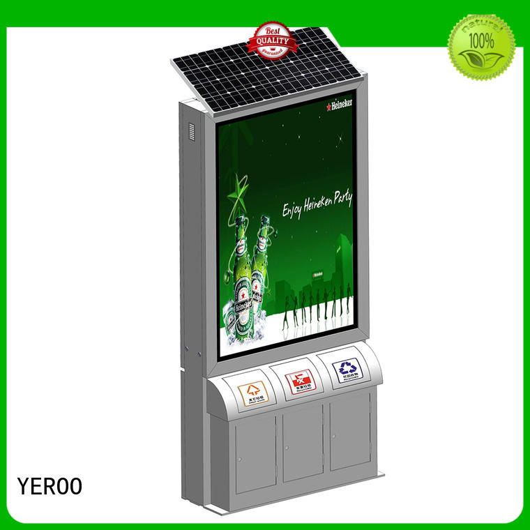 YEROO outdoor light box free quote for street ads