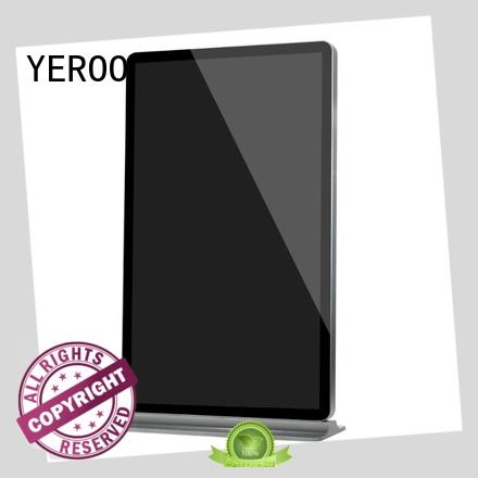 floor digital signage kiosk signage for display YEROO
