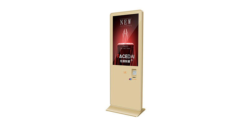 YEROO-Digital Signage Displays Indoor Bank Payment Kiosk Lcd Screen With Pos Machine