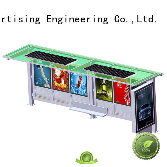 YEROO solar bus shelter customized color