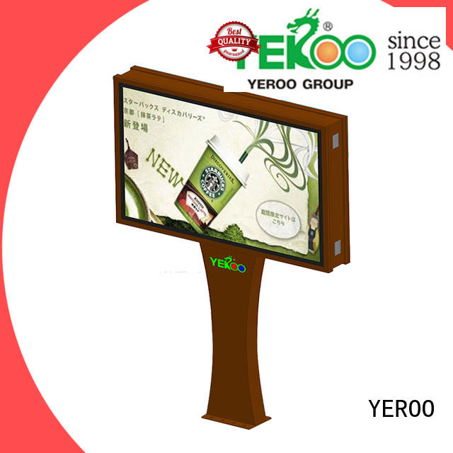 YEROO scrolling poster stand for advertising
