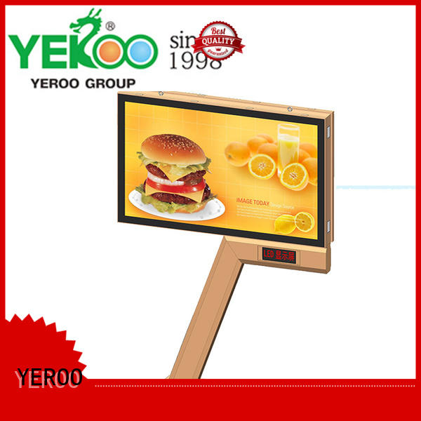 rolling billboard powered for advertising YEROO