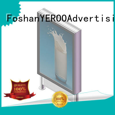 customized design led advertising light box for super market YEROO