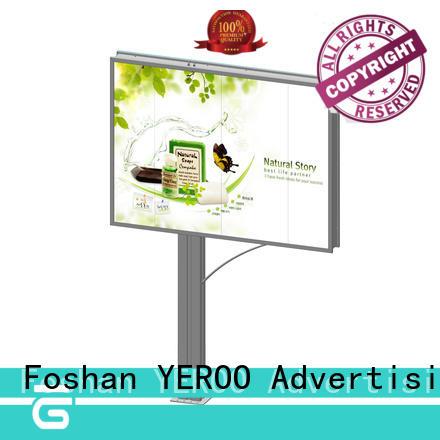 double sided mega billboard side sales for marketing YEROO