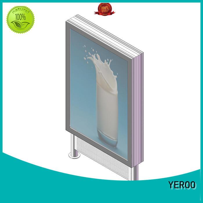 YEROO standing light box for super market