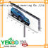 Highway large size solar energy outdoor advertising billboard