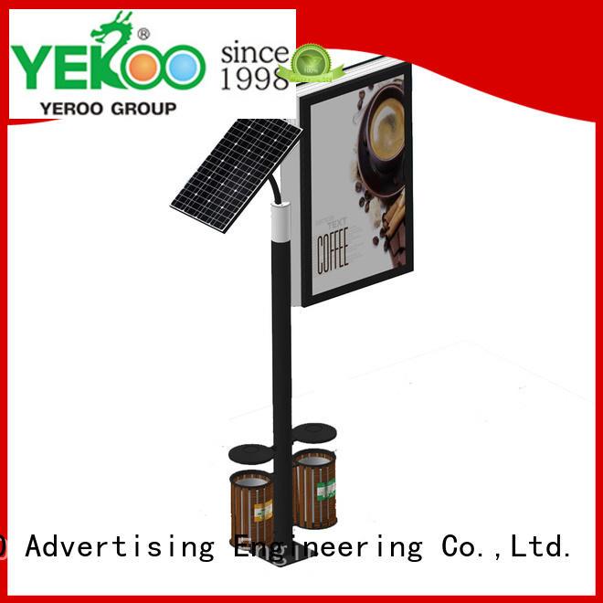 YEROO stainless steel outdoor light box bulk production for marketing