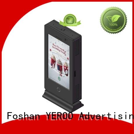 YEROO wall mounted Outdoor LCD display universal for outdoor ads