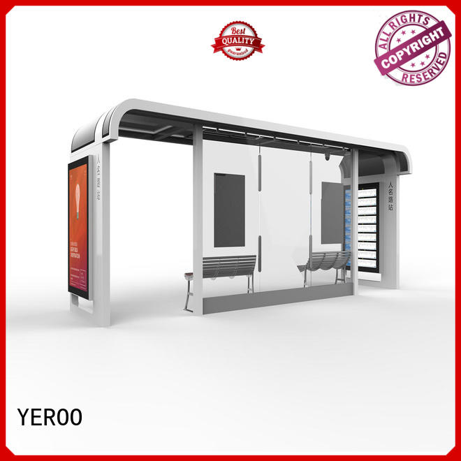 city bus shelter ad forecasting for suburb YEROO