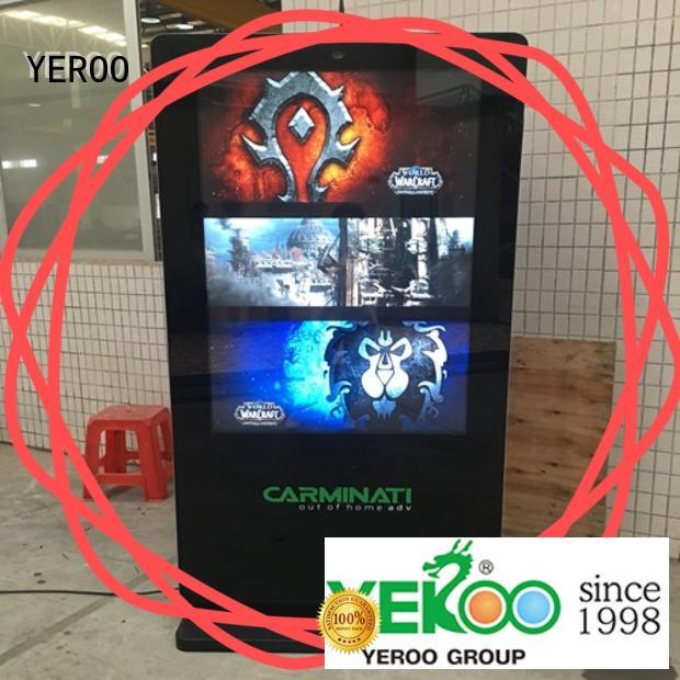 universal outdoor digital signage receipt for display YEROO