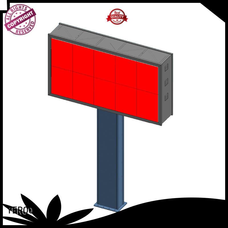 customized electronic led billboards power public furniture
