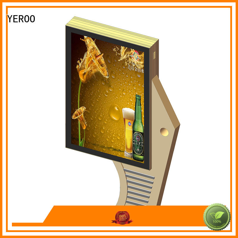 hot-sale street light box easy-operation for shopping mall