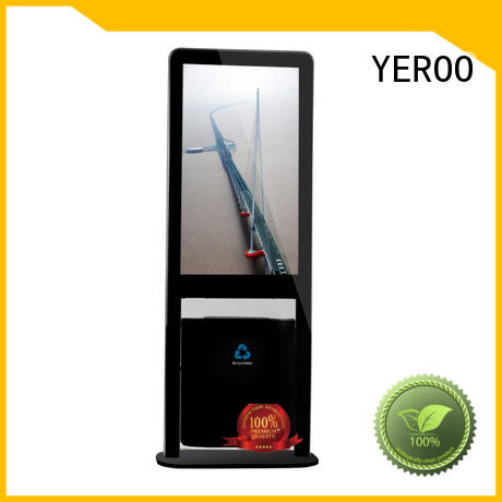 YEROO free standing digital signage display payment best landscape