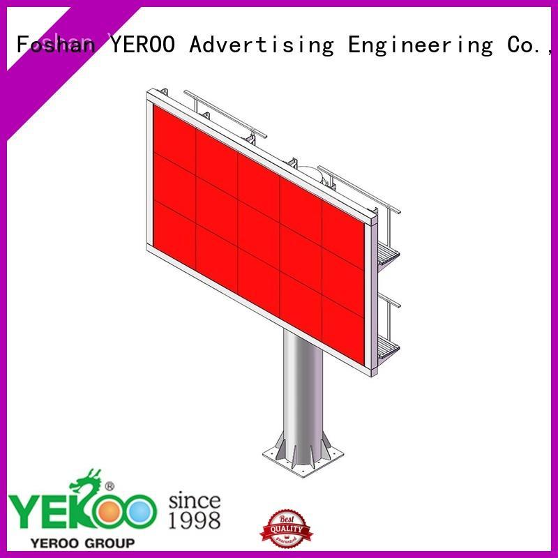 YEROO customized electronic billboard powered