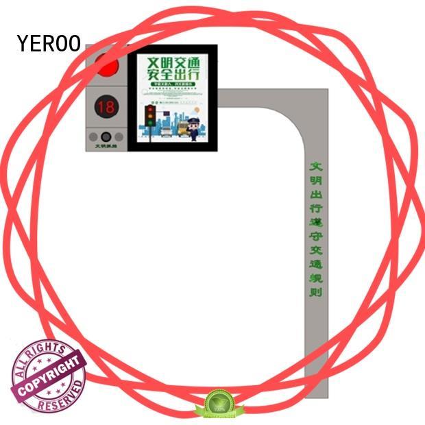 YEROO wall mounted led screen display energy-saving for shopping mall