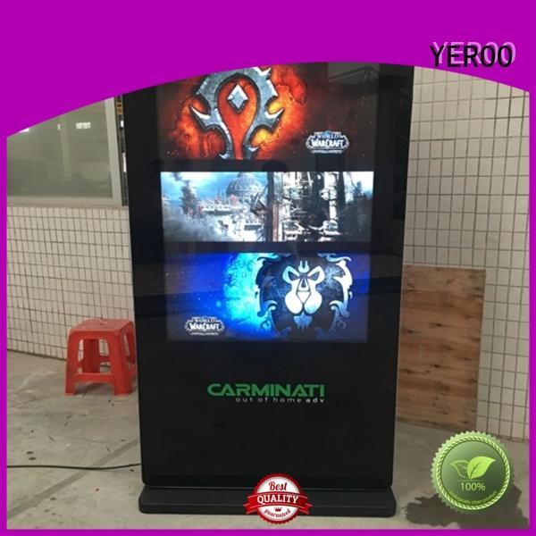 YEROO fast installation Outdoor LCD display popular