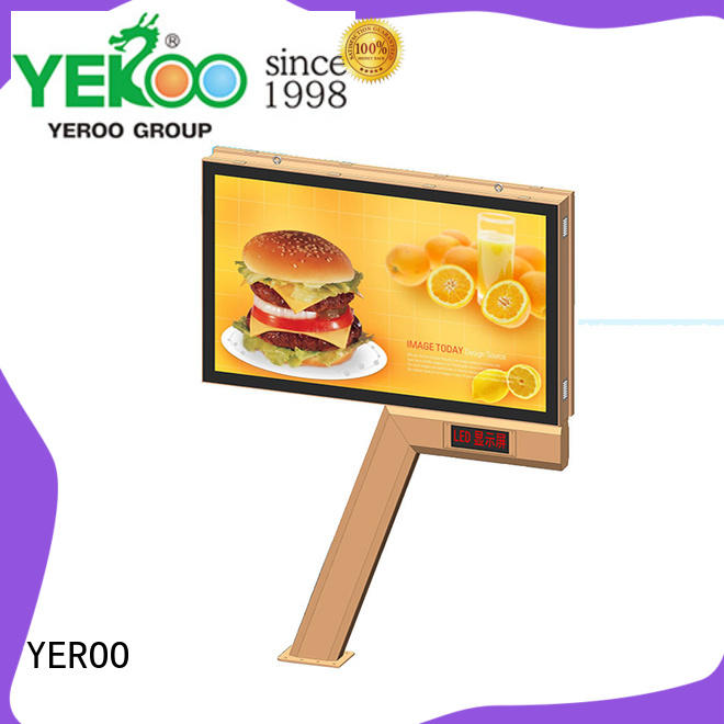double scrolling poster best quality for advertising YEROO
