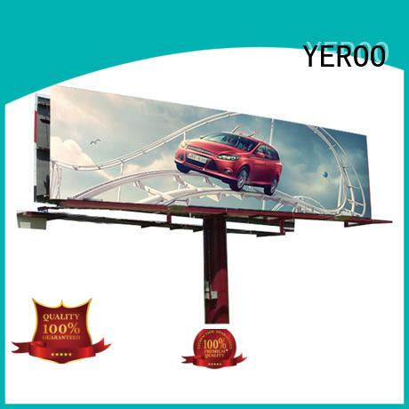YEROO gantry billboard stand bulk production for city ads