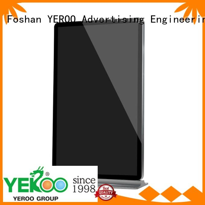 YEROO lcd advertising player favorable quality for store