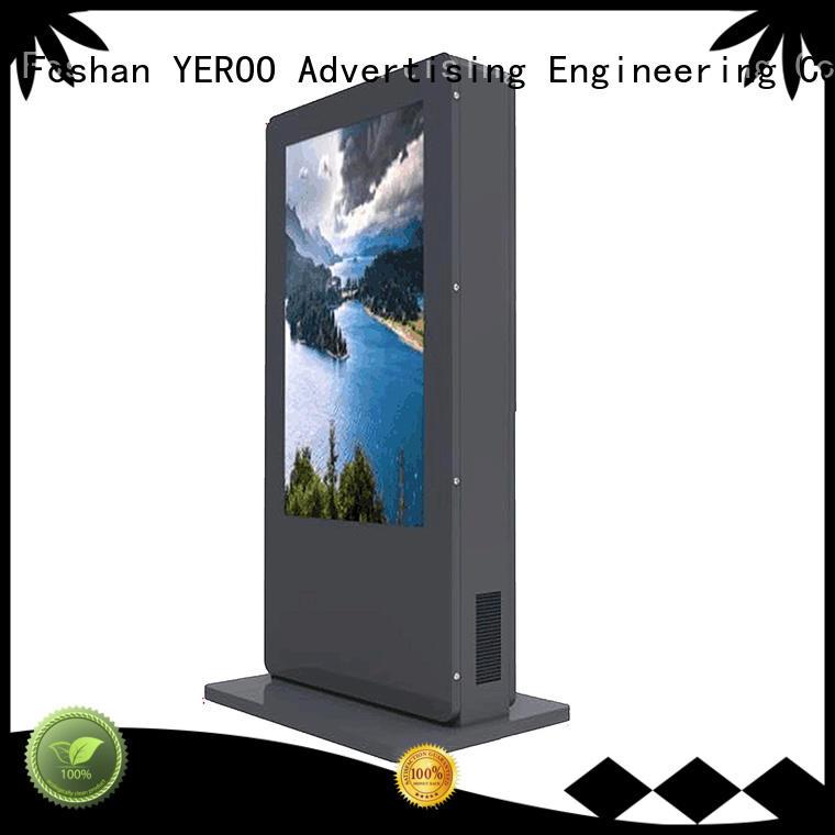 YEROO interactive digital kiosk display hot-sale