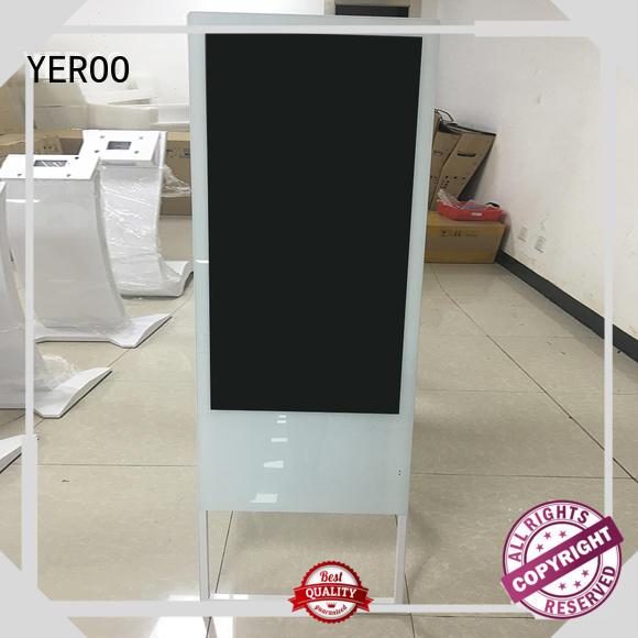 wall-mounted digital signage display kiosk smart shopping YEROO