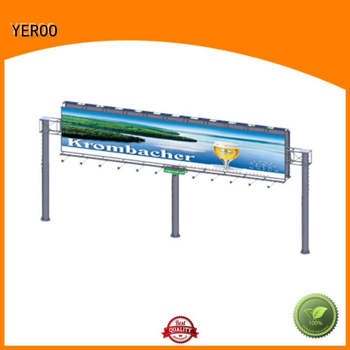 YEROO outdoor billboards for super mall