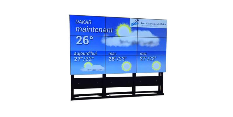 YEROO-Digital Signage Screen 1920x1080 Full Hd 4955 3x3 Samsung Lg Lcd