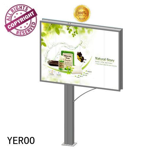convenient outdoor advertising billboard order now YEROO