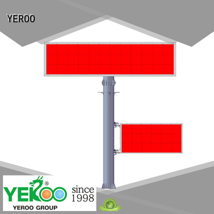 YEROO durably gantry structure wall mounted public furniture