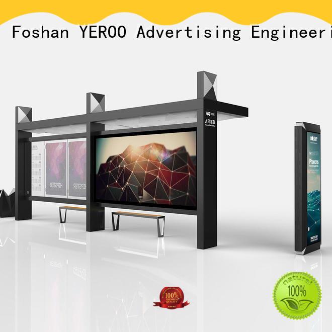 YEROO customized smart bus shelter