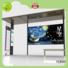 metal bus stop kiosk forecasting for suburb YEROO