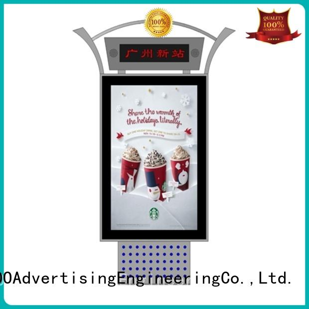 YEROO rotating outdoor led screen advertising for super market