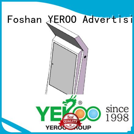 YEROO paper touch screen kiosk order now