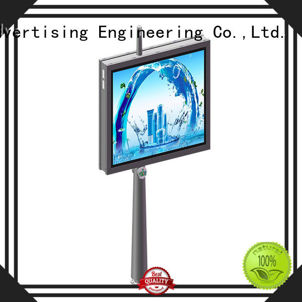 YEROO backlit sign box good quality for advertising