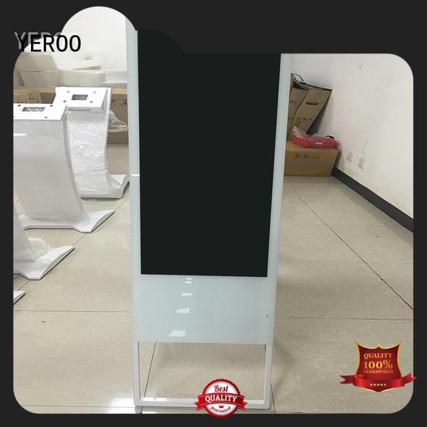 YEROO rotating digital kiosk advertising payment lcd screen