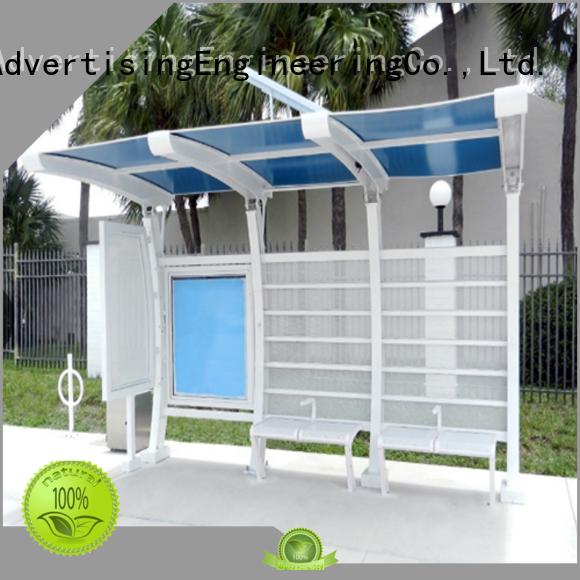 metal bus stop shelter metal