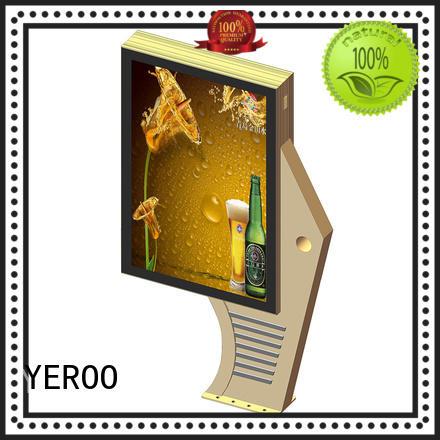 led backlit standing light box light street for super market YEROO