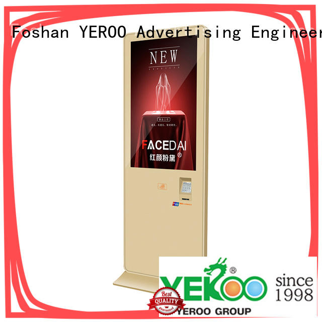 YEROO lcd advertising player top brand for store