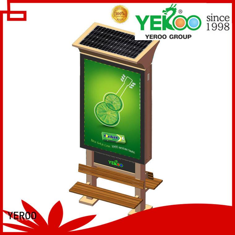YEROO advertising billboard