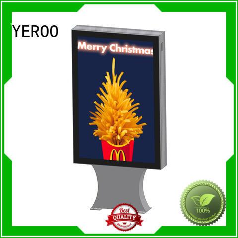 YEROO rust-proof custom light box signs single box for store