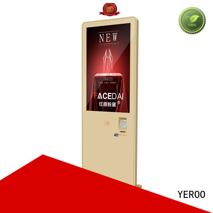 YEROO removable structure indoor advertising display wall mounted best landscape
