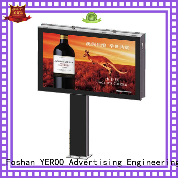 scrolling scrolling advertising signs advertising for city YEROO