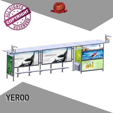 metal metal bus stop shelter metal YEROO